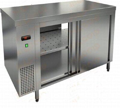 Тепловой стол сквозной Hicold TS T 16 GN O