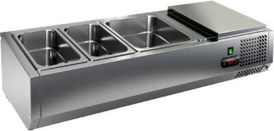 Холодильная витрина для ингредиентов Hicold VRTO 1390 к PZ3