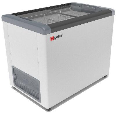 Морозильный ларь Gellar FG 350 C (FG 300C) серый
