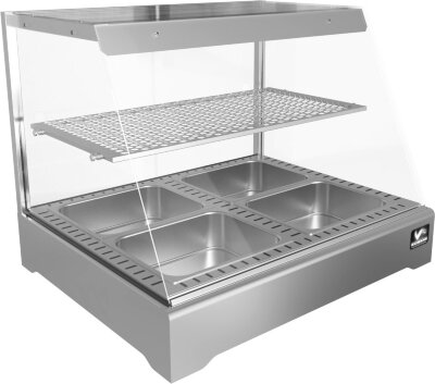 Тепловая витрина Кобор СR1-80H Silver