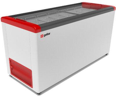 Морозильный ларь Gellar FG 600 C красный