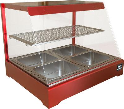 Тепловая витрина Кобор СR1-80H Red