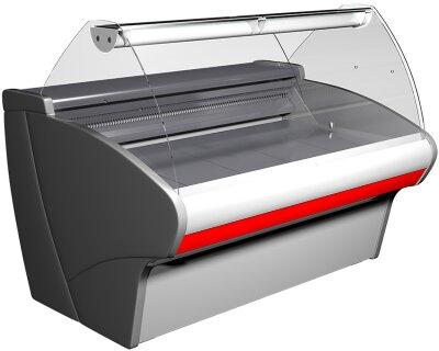 Холодильная витрина Полюс ВХС-1,5 Сarboma G110 (G110 SM 1,5-1)