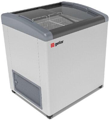 Морозильный ларь Gellar FG 250 E (FG 200E) серый