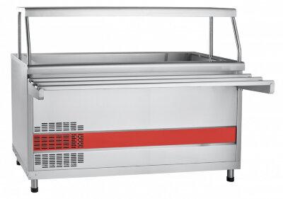 Прилавок холодильный с ванной Abat Аста ПВВ(Н)-70КМ-03-НШ