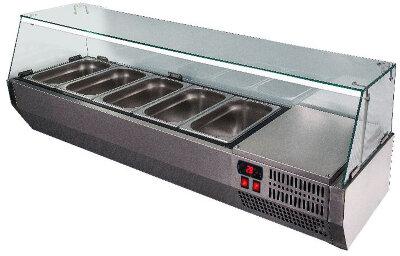 Холодильная витрина для ингредиентов Polair VT2v-G (1/3)