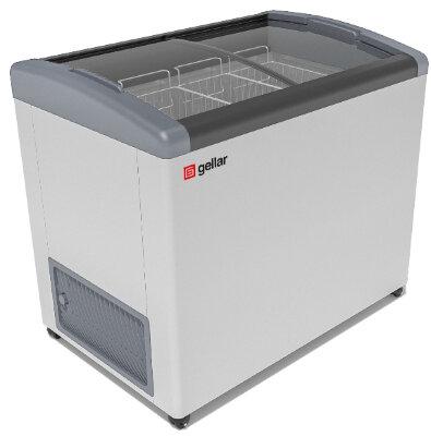 Морозильный ларь Gellar FG 350 E (FG 300 E) серый