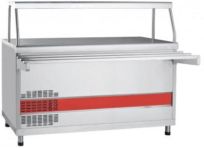 Прилавок холодильный с плоской столешницей Abat Аста ПВВ(Н)-70КМ-01-НШ