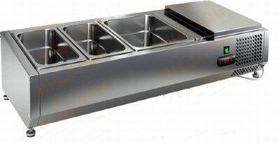 Холодильная витрина для ингредиентов Hicold VRTO 1000
