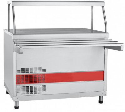 Прилавок холодильный с плоской столешницей Abat Аста ПВВ(Н)-70КМ-НШ