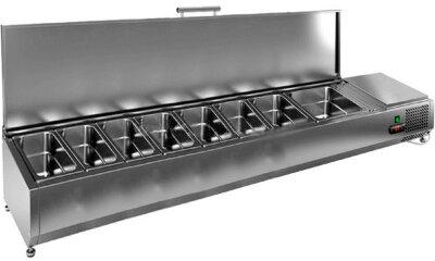 Холодильная витрина для ингредиентов Hicold VRTU 1835