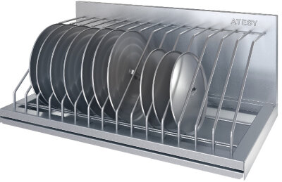Полка для крышек Atesy ПКК-С- 600.350-15-02 (ПКК-600)