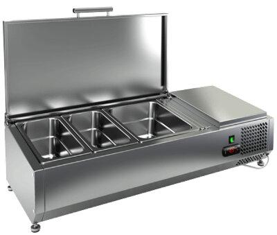 Холодильная витрина для ингредиентов Hicold VRTU 1390