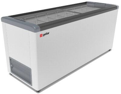 Морозильный ларь Gellar FG 700 C серый