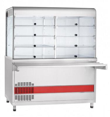 Прилавок-витрина холодильный для самообслуживания Abat Аста ПВВ(Н)-70КМ-С-01-ОК