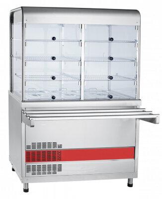 Прилавок-витрина холодильный с ванной Abat Аста ПВВ(Н)-70КМ-С-02-НШ
