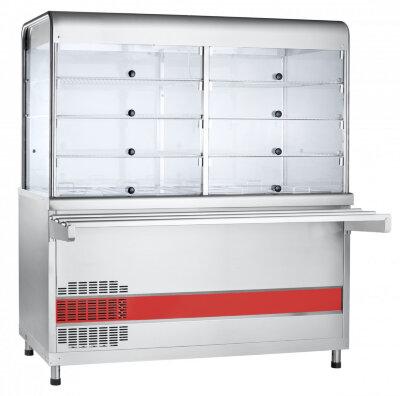 Прилавок-витрина холодильный с ванной Abat Аста ПВВ(Н)-70КМ-С-03-НШ