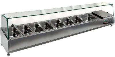 Холодильная витрина для ингредиентов Hicold VRTG 1835