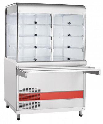 Прилавок-витрина холодильный с плоской столешницей Abat Аста ПВВ(Н)-70КМ-С-НШ