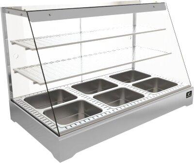 Тепловая витрина Кобор СR2-117H Silver