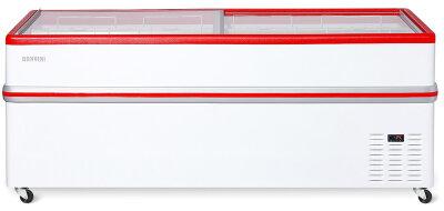 Ларь-бонета Снеж BF Bonvini 2100 L красный (без агрегата)