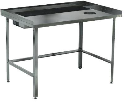 Стол для овощей Кобор СО-150/80/430