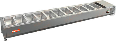 Холодильная витрина для ингредиентов Hicold VRTO 2280