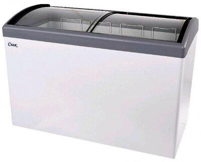 Морозильный ларь Снеж МЛГ-500 (серый)