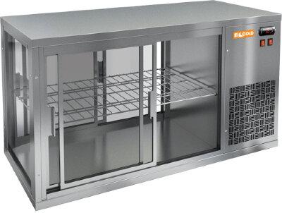 Витрина холодильная настольная Hicold VRL T 1100 R