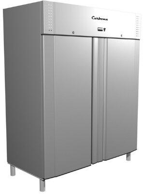 Комбинированный шкаф Полюс Carboma RF1120 (нерж. сталь)