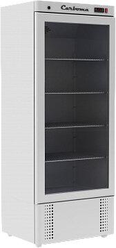 Холодильный шкаф Полюс Carboma R700 С (стекло)