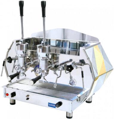 Рожковая кофемашина La Pavoni DIA2L золотая