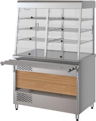 Прилавок-витрина холодильный электрический Марихолодмаш ПВХЭ11