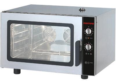 Печь конвекционная Inoxtrend NB-UA-604E 01 RH (GUA-604EB с пароувлажнением)
