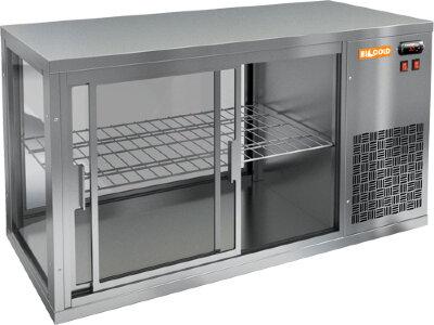 Витрина холодильная настольная Hicold VRL 900 R