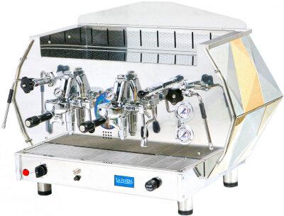 Рожковая кофемашина La Pavoni DIA2S золотая