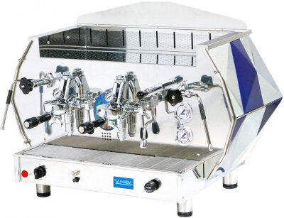 Рожковая кофемашина La Pavoni DIA2S синяя