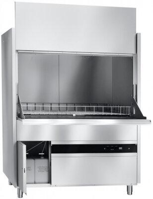 Купольная посудомоечная машина Abat МПК 130-65 со съемными держателями