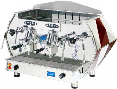 Рожковая кофемашина La Pavoni DIA2SV красная
