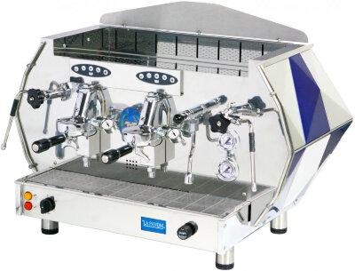 Рожковая кофемашина La Pavoni DIA2SV синяя