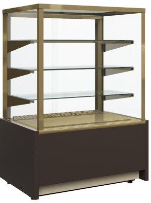 Тепловая витрина Полюс KC70 SH 0,9-1 (стекло)