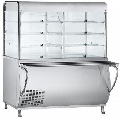 Прилавок-витрина холодильный Abat Патша ПВВ(Н)-70М-С-ОК