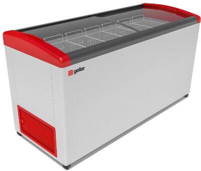 Морозильный ларь Gellar FG 675 E (FG 650 E) красный