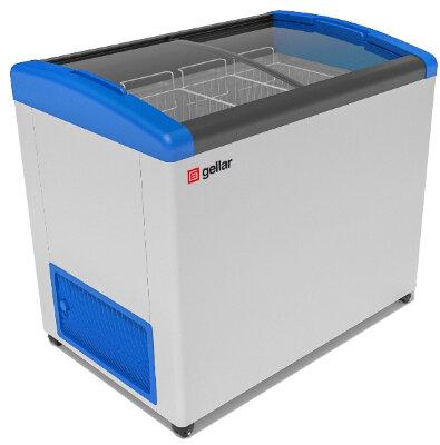 Морозильный ларь Gellar FG 350 E (FG 300 E) синий