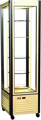 Шкаф кондитерский Полюс R400Cвр Сarboma (D4 VM 400-2(беж-корич, станд цвета))