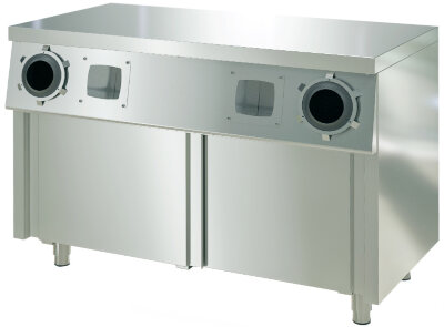 Стол-тумба с диспенсерами для стаканов Atesy СТД-2/1200-2 Купе