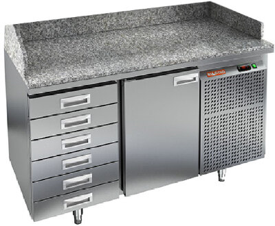 Стол для пиццы Hicold PZ4-1/GN 6R