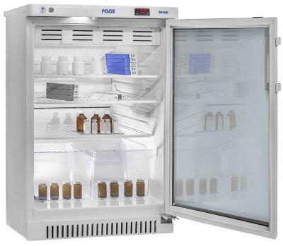 Фармацевтический холодильник Pozis ХФ-140-1 тонированное стекло
