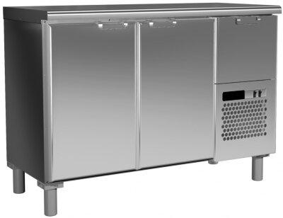 Холодильный стол Россо T57 M2-1 9006-1 корпус серый, без борта (BAR-250)