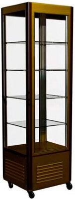 Шкаф кондитерский Полюс R400C Сarboma Люкс (D4 VM 400-1(корич-золотой, 1/2, INOX))